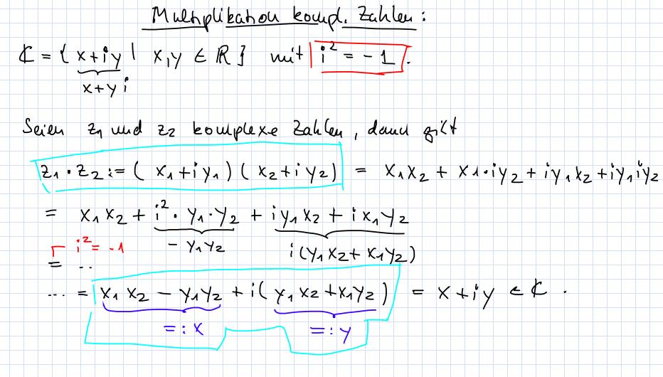 Groß Algebra 3 4 Komplexen Zahlen Arbeitsblatt Bilder ...